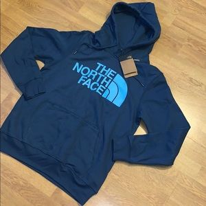 NWT The North Face Half Dome Pullover Hoodie, Blue